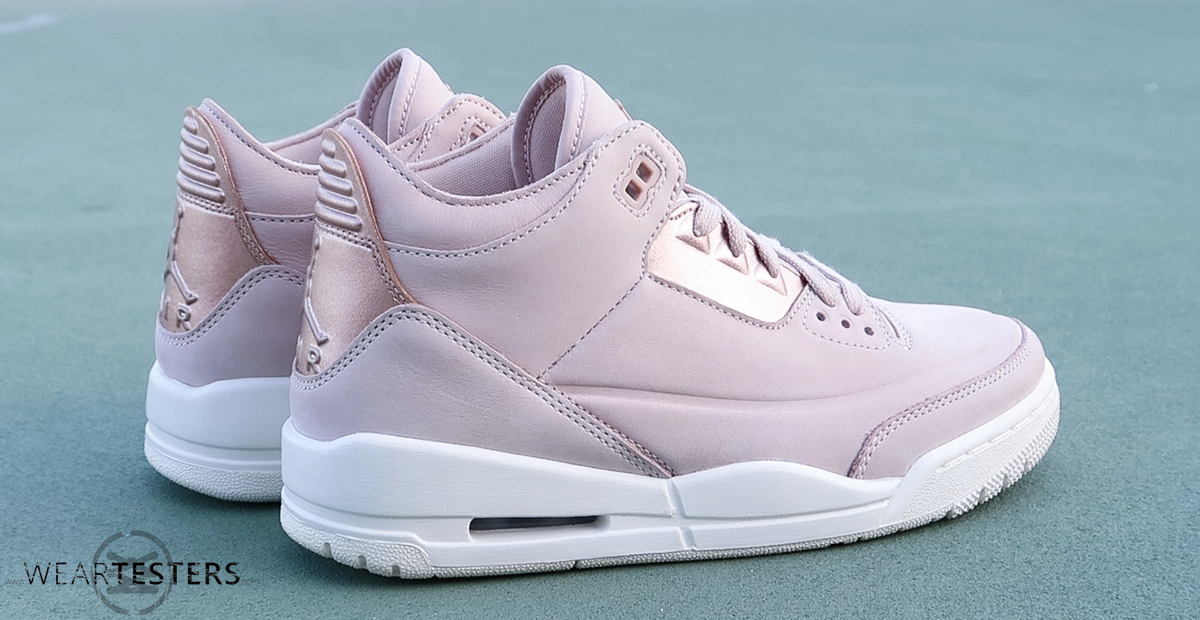 air jordan 3 retro rose gold
