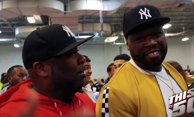a47c8a720114 50 Cent   Thisis50 Take Over DJ Envy s Car Show