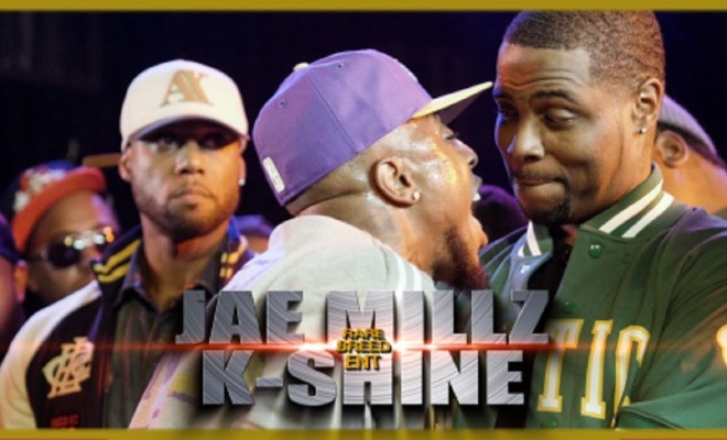 Jae Millz VS K-Shine Rap Battle – RBE