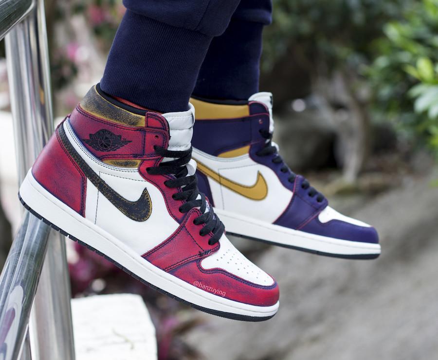 From LA to Chicago: 'Wear away' Nike SB x Air Jordan 1 Retro