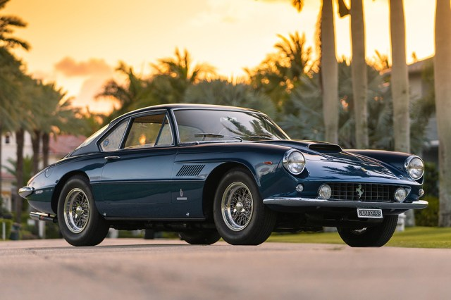 This 1962 Ferrari 400 Superamerica Series Coupe Aerodinamico aiming for a $3 million winning bid