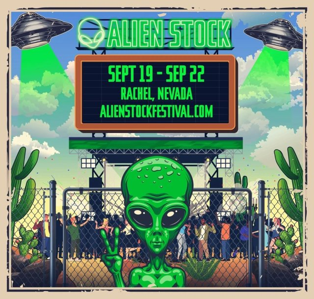 Seriously? The 'Storm Area 51' event is now a music festival called 'Alien Stock'