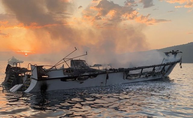 25 bodies recovered, nine still missing after boat catches fire near Santa Cruz