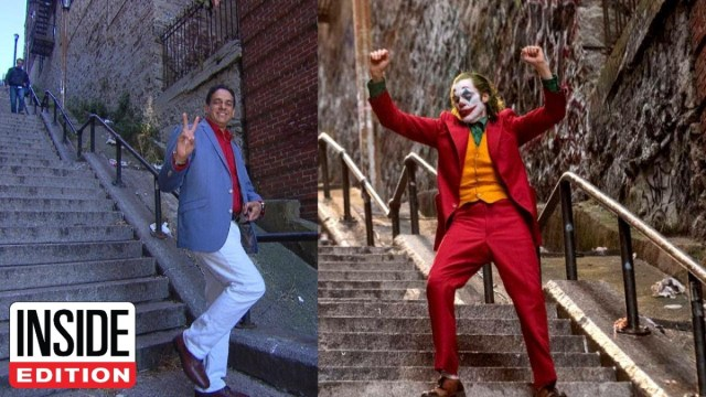 'Joker' Fans Flock to Stairs From Dancing Scene