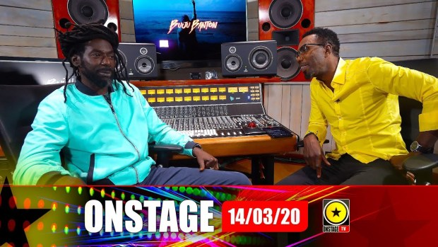 Buju Banton Speaks For The First Time Since Return – Onstage March 14 2020