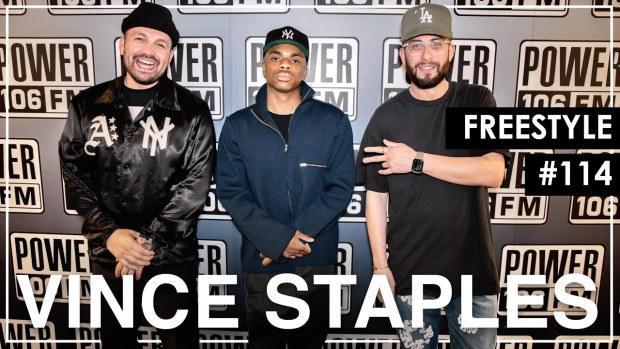 "Vince Staples Spits Cali Politics Bars Over Dr. Dre's ""Xxplosive"" Beat – L.A. Leakers Freestyle #114"