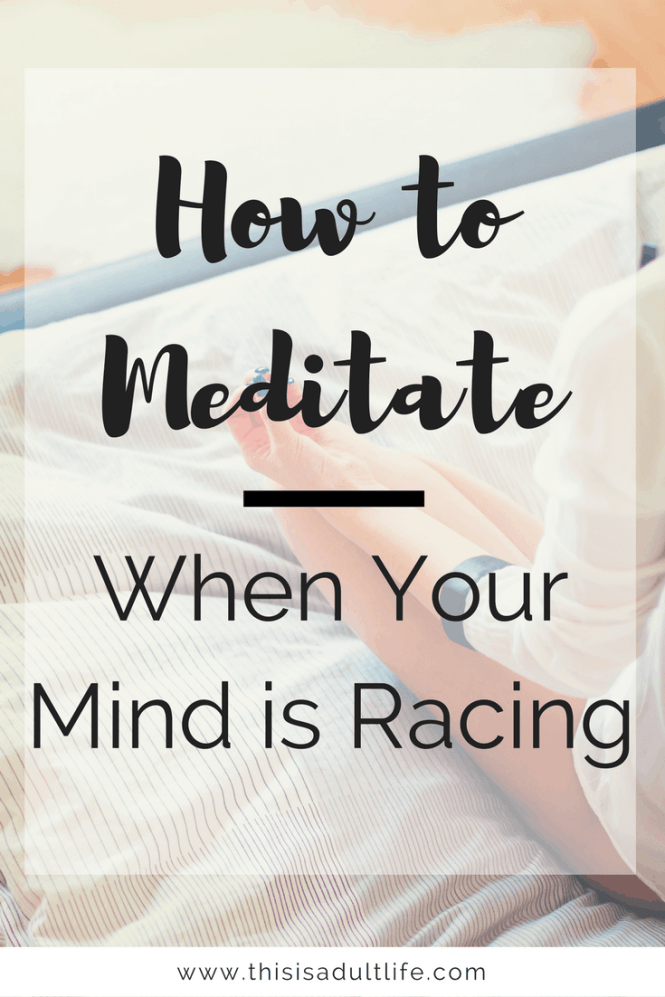 How to Meditate and Quiet Your Mind in 5 minutes