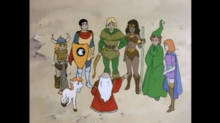 Dungeons &Dragons Cartoon