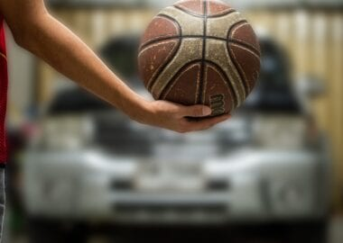 How to train basketball at home