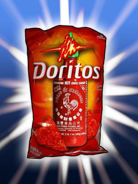 Sriracha Doritos