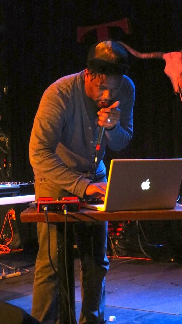 Open Mike Eagle on the Mic