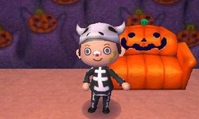 Spooky Couch from Animal Crossing New Leaf