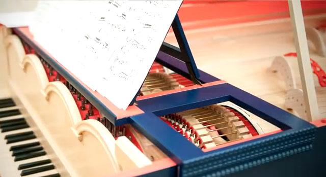 Leonardo DaVinci's Viola Organista