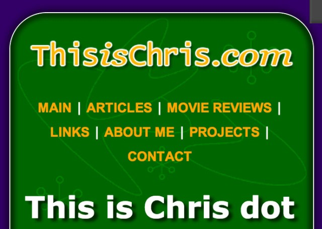 This is Chris: Responsive Redesign