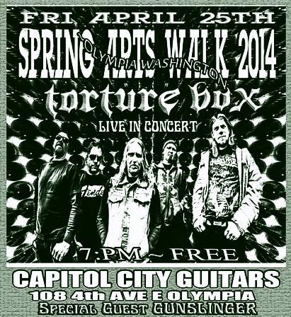 Gunslinger Show #1: Olympia Artswalk!