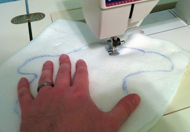 Sew, sew, sew your ghost!