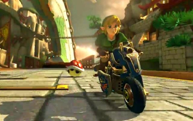 Link on a Bike!