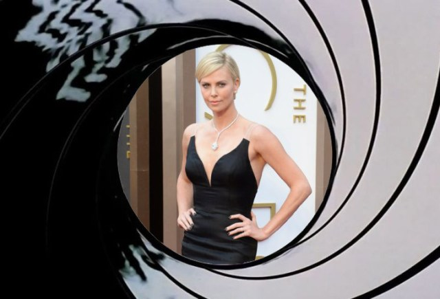 Theron… Charlize Theron.