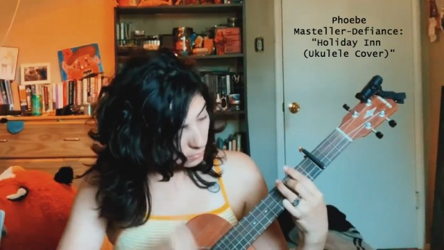 Phoebe Masteller-Defiance Holiday Inn Ukulele Cover