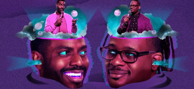 Baron Vaughn (left) & Open Mike Eagle (right) present The New Negroes