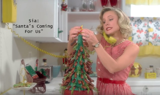 Sia: Santa's Coming for Us