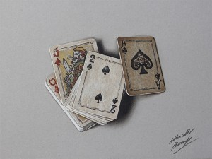 drawings objects realistic everyday jobson christopher photorealistic