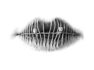 lips pencil drawings christo surreal drawing artist unusual