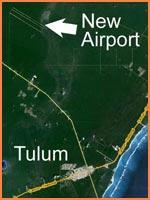 Localization Riviera Maya Airport Map