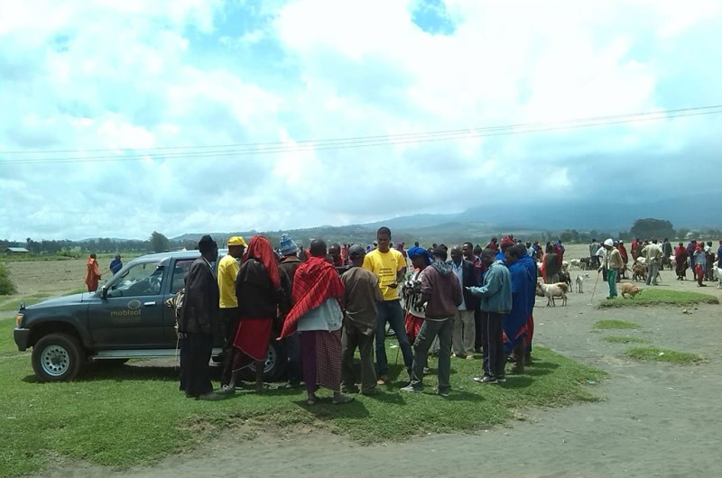 Market Adaption 06: Marketing at Masaii animal market