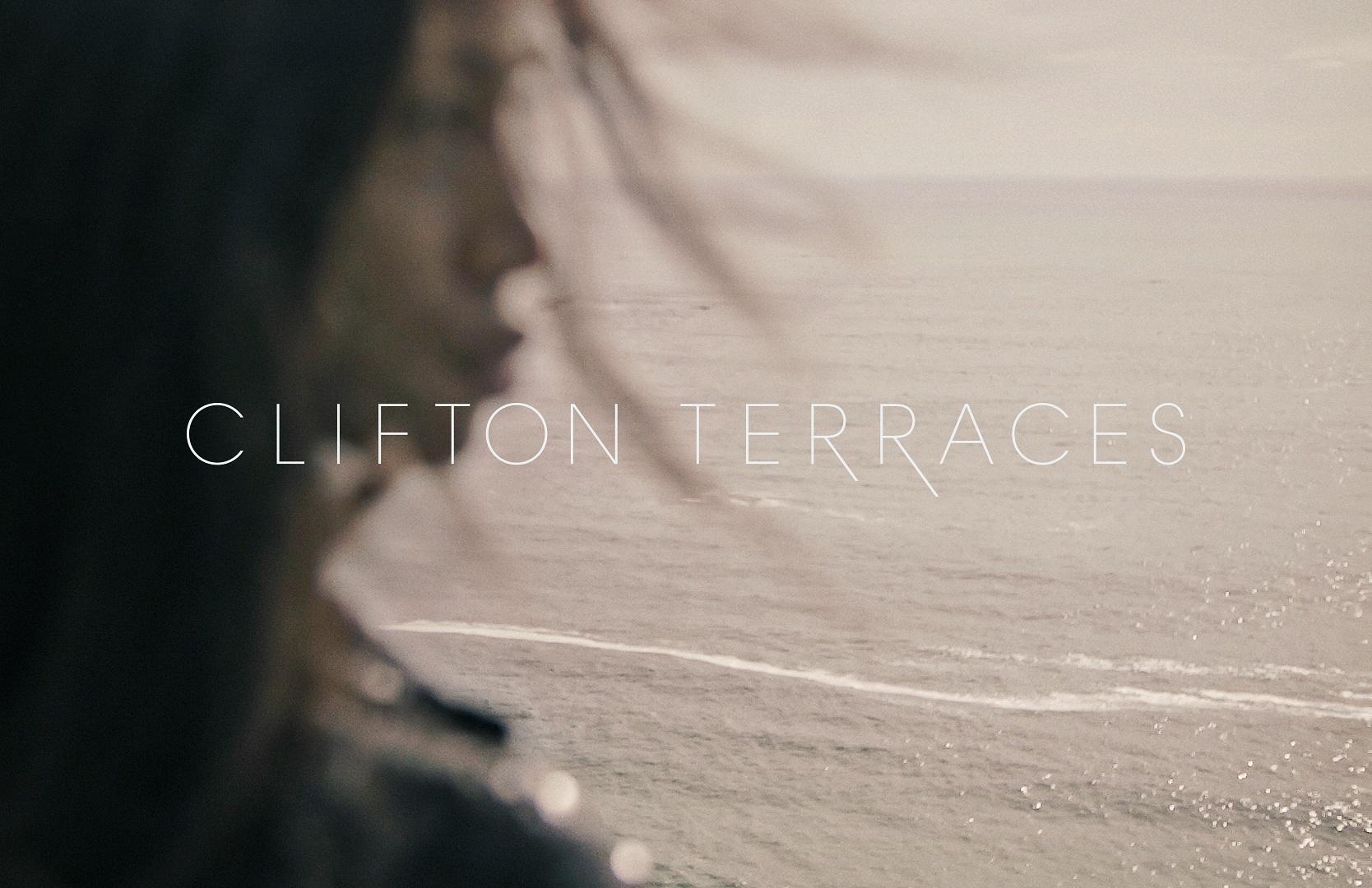 Clifton Terraces Woman staring into sea