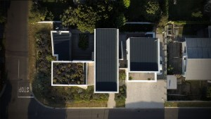 House 4AK architecture drone shot