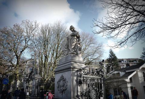 Gate to Vondel Park, Amsterdam.