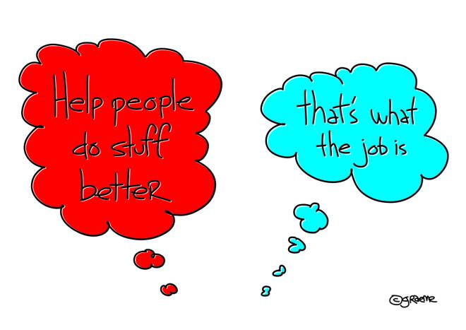 help people do stuff better