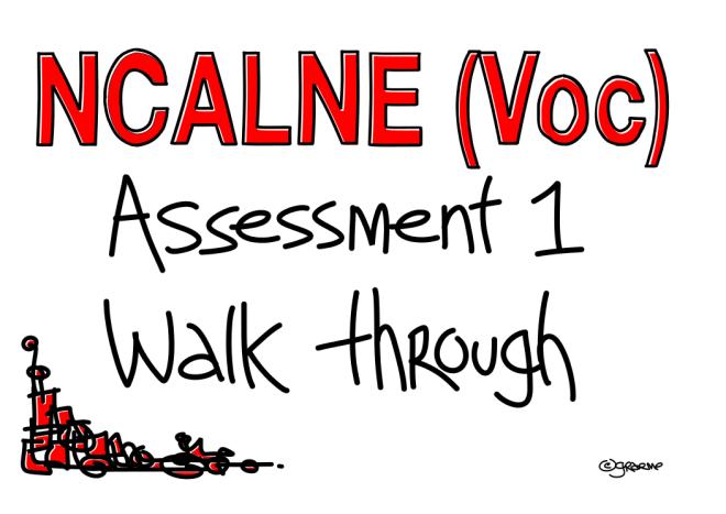 NCALNE Voc Walk through