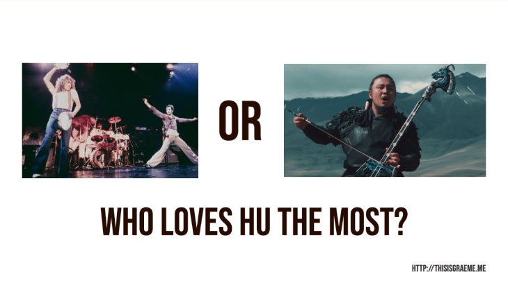 The Who or The Hu? Who Loves Hu The Most?  Meme by thisisgraeme Graeme Smith
