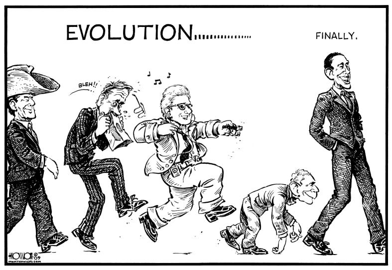 Presidential Evolution