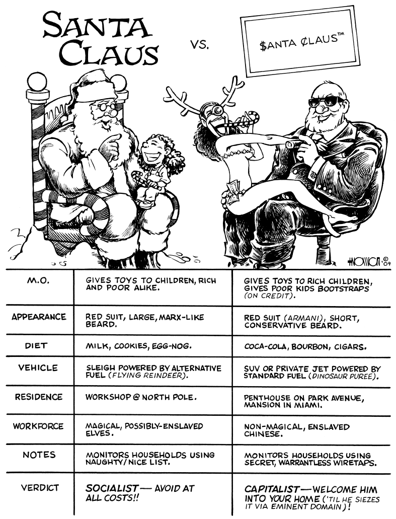 Capitalist Claus