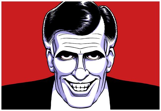 Mitt Romney Is Serial Killer >> This is Historic Times » Mitt Romney: American Psycho