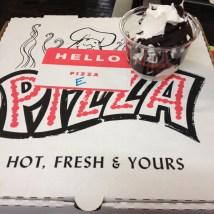 """Hello Pizza, I'm """"E"""""""