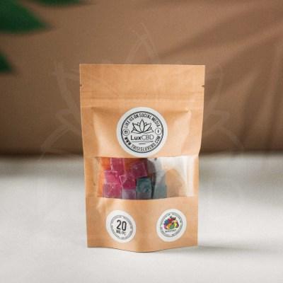 CBD Hard Candy Cubes 20%