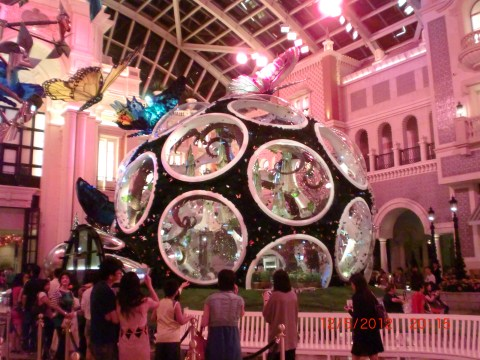 Real live butterflies inside.