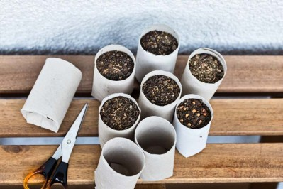 homemade seed starting containers