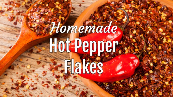 homemade hot pepper flakes