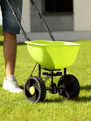 aerate lawns