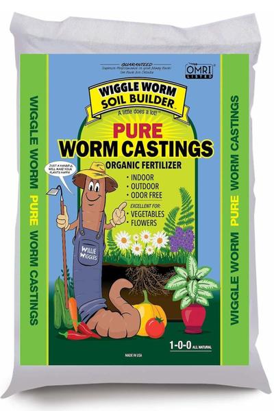 worm castings as fertilizer