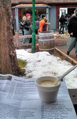 Cabin Fever Chowder Cookoff for Charity