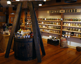 Inside the Spice and Tea Exchange