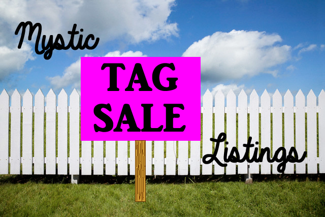 Tag Sales in Mystic