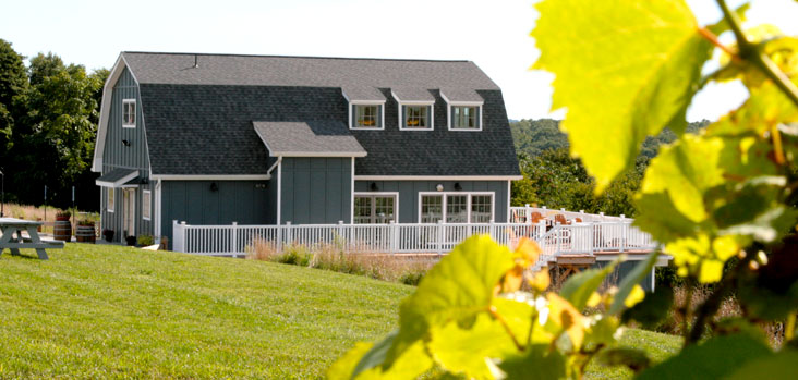 Preston Ridge Vineyard in Preston CT