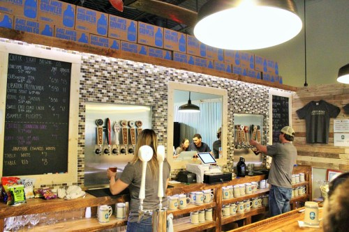 outer light brewing company tap room